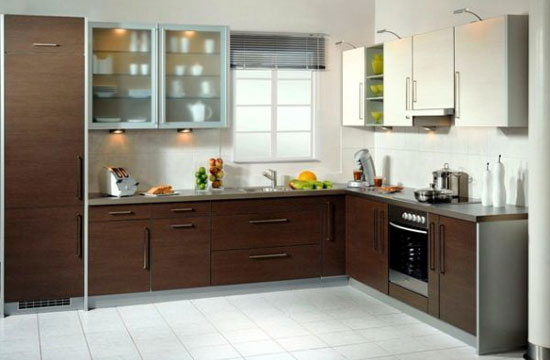 modular kitchen L Type Kitchen