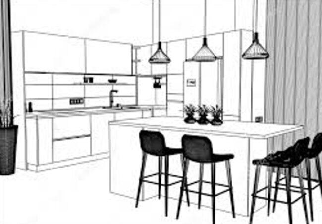 New modular kitchen